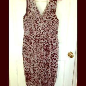 Robert Rodriquez leopard dress